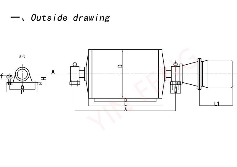 YZW Type Build-out Motorized Drum