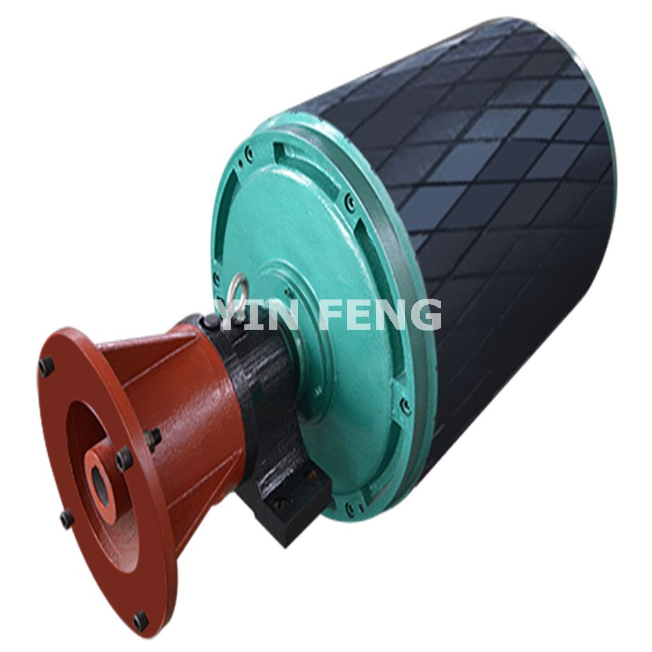 YTH Type Build-out-gear-reducing Motorized Pulley (Motorized Drum/Drum Motor)