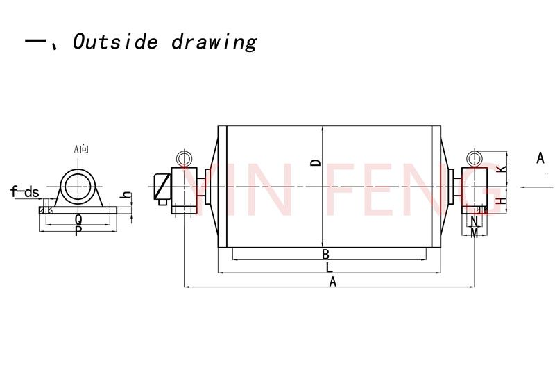 TDY75 Type Oil-cooled Motorized Pulleys (Motorized Drum)