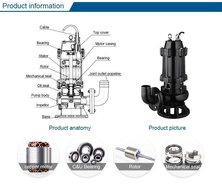 Submersible Sewage Pump(Waste Dirty Water Pumps)information