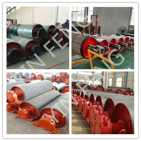 Belt Conveyor Pulley Drum/Belt Conveyor Drum Pulley