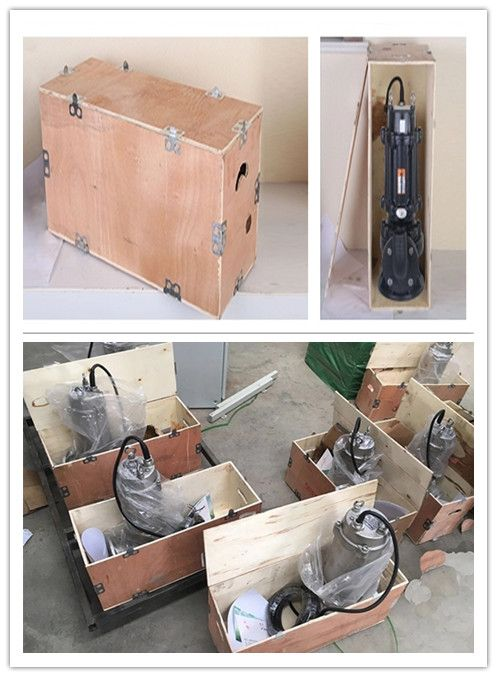 The submersible sewage pump waste dirty water pump Packaging